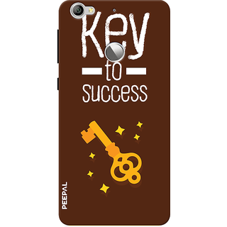 PEEPAL LeTv Le1s Designer & Printed Case Cover 3D Printing Key To Success Design