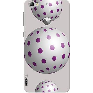 PEEPAL LeTv Le1s Designer & Printed Case Cover 3D Printing Balloon Design