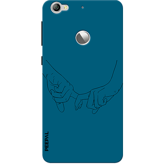 PEEPAL LeTv Le1s Designer & Printed Case Cover 3D Printing Together Design