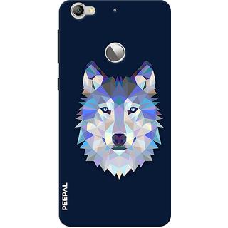 PEEPAL LeTv Le1s Designer & Printed Case Cover 3D Printing Artist Wolf Design