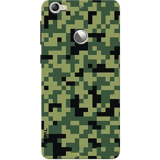PEEPAL LeTv Le1s Designer & Printed Case Cover 3D Printing Military Design