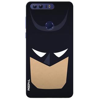 PEEPAL Honor 8 Designer & Printed Case Cover 3D Printing Bat-Man Design