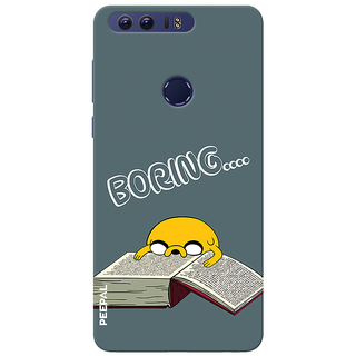 PEEPAL Honor 8 Designer & Printed Case Cover 3D Printing Studying Is Boring Design