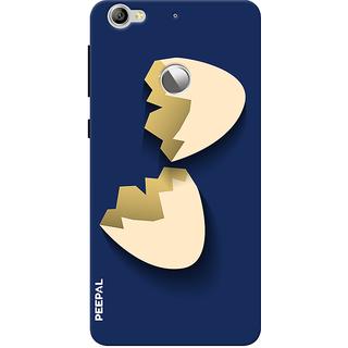 PEEPAL LeTv Le1s Designer & Printed Case Cover 3D Printing Egg Shell Design