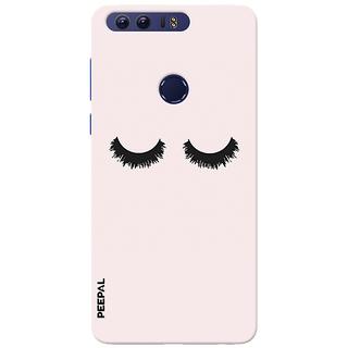 PEEPAL Honor 8 Designer & Printed Case Cover 3D Printing Lonely Eyes Design