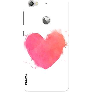 PEEPAL LeTv Le1s Designer & Printed Case Cover 3D Printing Love Design
