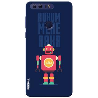 PEEPAL Honor 8 Designer & Printed Case Cover 3D Printing Cyborg Jinni Design