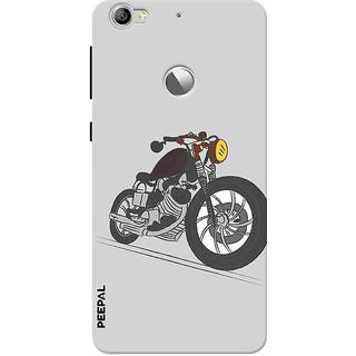 PEEPAL LeTv Le1s Designer & Printed Case Cover 3D Printing Motorcycle Design