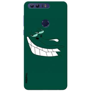 PEEPAL Honor 8 Designer & Printed Case Cover 3D Printing Smile Design