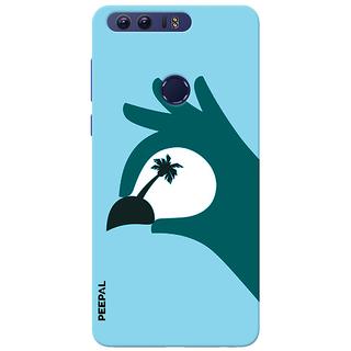 PEEPAL Honor 8 Designer & Printed Case Cover 3D Printing Vacation  Design