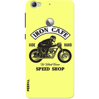 PEEPAL LeTv Le1s Designer & Printed Case Cover 3D Printing Ride Motorcycle Hard Design