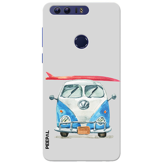 PEEPAL Honor 8 Designer & Printed Case Cover 3D Printing Going On Vacation Design