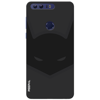 PEEPAL Honor 8 Designer & Printed Case Cover 3D Printing Bat-Man Design