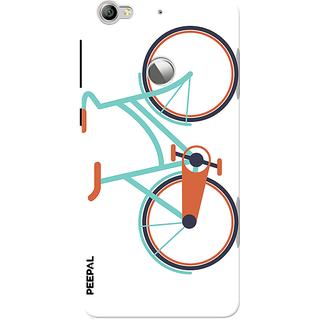 PEEPAL LeTv Le1s Designer & Printed Case Cover 3D Printing Bicycle Design