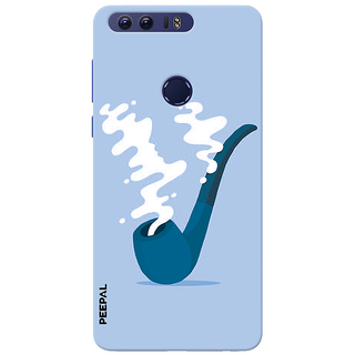 PEEPAL Honor 8 Designer & Printed Case Cover 3D Printing Chilling Pipe Design