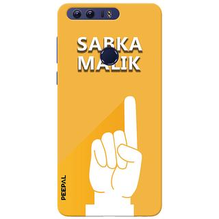 PEEPAL Honor 8 Designer & Printed Case Cover 3D Printing Sab Ka Malik Ek Design