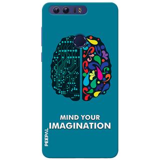 PEEPAL Honor 8 Designer & Printed Case Cover 3D Printing Technology Vs Art Design