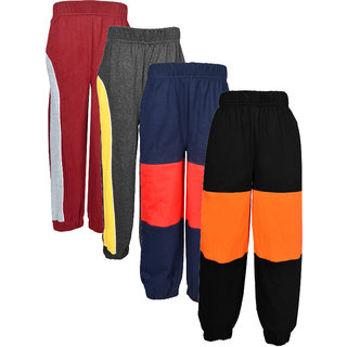 Gkidz Pack Of 4 Multicolor Joggers
