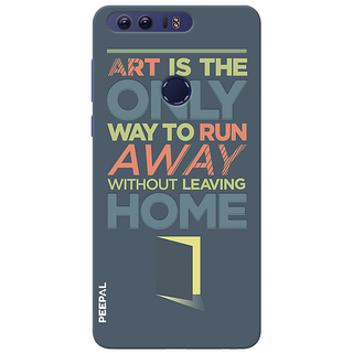 PEEPAL Honor 8 Designer & Printed Case Cover 3D Printing Quote Design