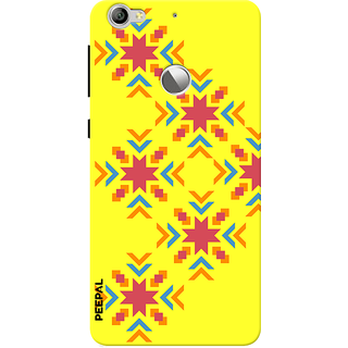 PEEPAL LeTv Le1s Designer & Printed Case Cover 3D Printing Art Multi Colour Design