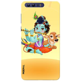 PEEPAL Honor 8 Designer & Printed Case Cover 3D Printing Krishna Design