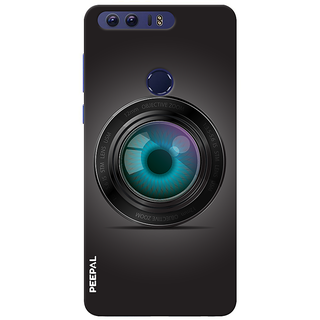 PEEPAL Honor 8 Designer & Printed Case Cover 3D Printing Mobile Camera Design