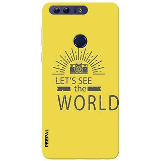 PEEPAL Honor 8 Designer & Printed Case Cover 3D Printing Photographers Life Design