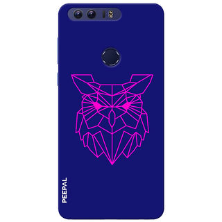 PEEPAL Honor 8 Designer & Printed Case Cover 3D Printing Ulloo Design