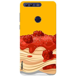 PEEPAL Honor 8 Designer & Printed Case Cover 3D Printing Cake Design