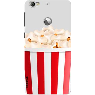 PEEPAL LeTv Le1s Designer & Printed Case Cover 3D Printing Popcorn Design