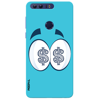 PEEPAL Honor 8 Designer & Printed Case Cover 3D Printing All About Money Design
