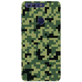 PEEPAL Honor 8 Designer & Printed Case Cover 3D Printing Military Design