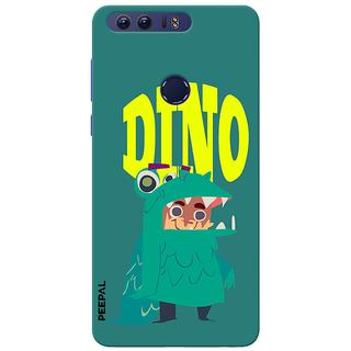 PEEPAL Honor 8 Designer & Printed Case Cover 3D Printing Dino Design