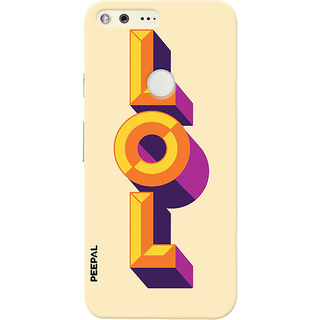 PEEPAL Google Pixel Designer & Printed Case Cover 3D Printing Lol Design