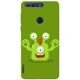 PEEPAL Honor 8 Designer & Printed Case Cover 3D Printing Cartoon Design