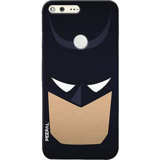 PEEPAL Google Pixel Designer & Printed Case Cover 3D Printing Bat-Man Design