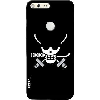PEEPAL Google Pixel Designer & Printed Case Cover 3D Printing Pirate Design