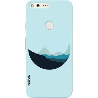 PEEPAL Google Pixel Designer & Printed Case Cover 3D Printing Lovely Moon Design