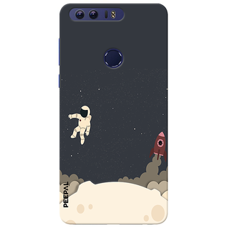 PEEPAL Honor 8 Designer & Printed Case Cover 3D Printing Astronaut Design