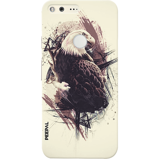 PEEPAL Google Pixel Designer & Printed Case Cover 3D Printing King Of Birds Design