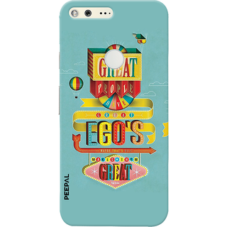 PEEPAL Google Pixel Designer & Printed Case Cover 3D Printing Quote Design