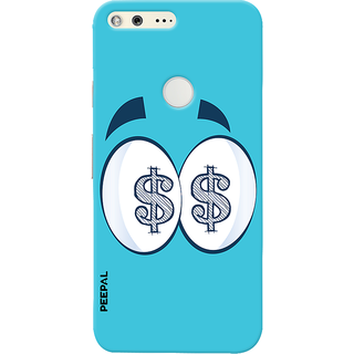 PEEPAL Google Pixel Designer & Printed Case Cover 3D Printing All About Money Design