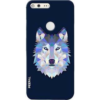 PEEPAL Google Pixel Designer & Printed Case Cover 3D Printing Artist Wolf Design