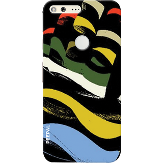 PEEPAL Google Pixel Designer & Printed Case Cover 3D Printing Art Multi Colour Design