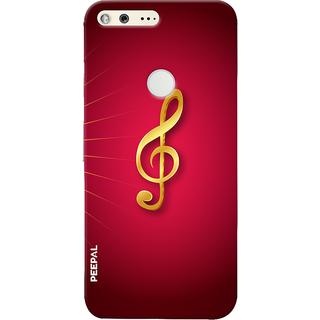 PEEPAL Google Pixel Designer & Printed Case Cover 3D Printing Music Sign Design