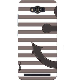 PEEPAL Asus Zenfone Max Designer & Printed Case Cover 3D Printing Anchor Design