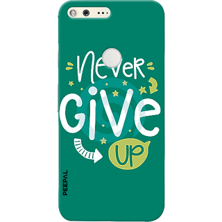 PEEPAL Google Pixel Designer & Printed Case Cover 3D Printing Quote Design