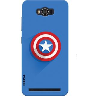 PEEPAL Asus Zenfone Max Designer & Printed Case Cover 3D Printing Shield America Design