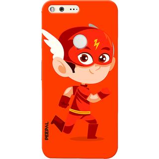 PEEPAL Google Pixel Designer & Printed Case Cover 3D Printing Junior Flash Design