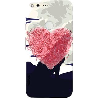 PEEPAL Google Pixel Designer & Printed Case Cover 3D Printing Love Design